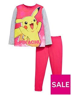 pokemon-pokemon-girls-long-sleeve-pikachu-pyjamas
