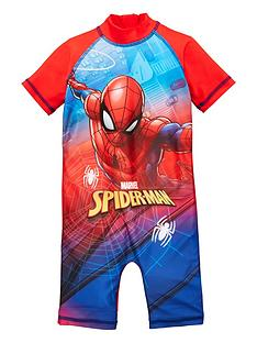spiderman-boys-swim-suit