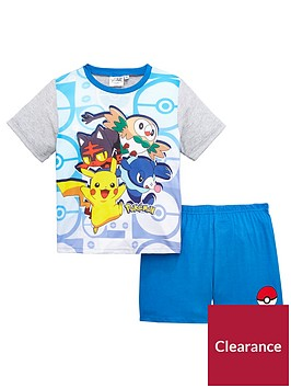 pokemon-boys-shorty-pyjams