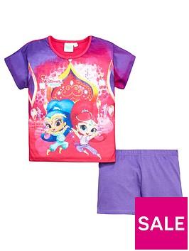 shimmer-and-shine-girls-shorty-pyjamas