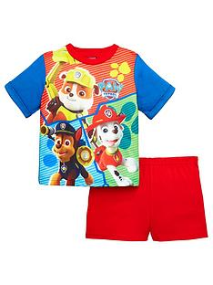 paw-patrol-boys-shorty-pyjams