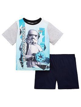 star-wars-starwars-boys-shorty-pyjamas