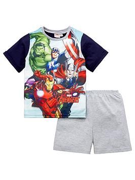 marvel-avengers-boys-shorty-pyjamas