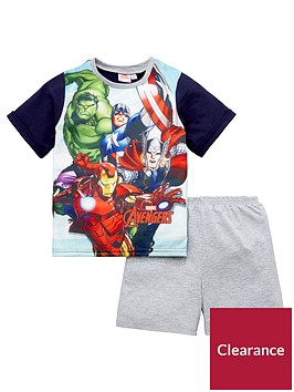 marvel-avengers-boys-shorty-pyjamas