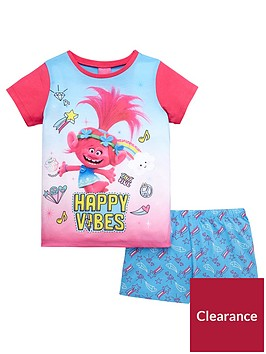 dreamworks-trolls-trolls-girls-shorty-pyjamas
