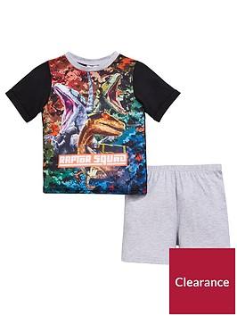 jurassic-world-boys-shorty-pyjamas