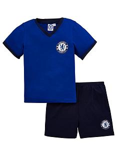 chelsea-shorty-football-pyjamas-set