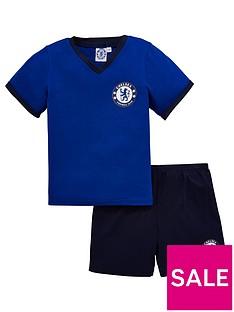 chelsea-shorty-football-pyjamas-set