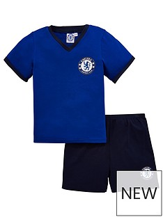 chelsea-unisex-shorty-football-pyjamas