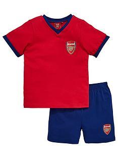 arsenal-unisex-shorty-football-pyjamas
