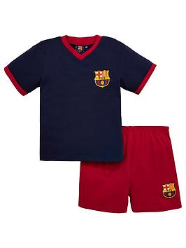 barcelona-fc-barcelona-shorty-football-pyjamas-set