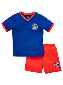 paris-saint-germain-psg-shorty-football-pyjamas-set