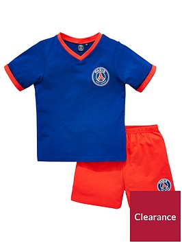 paris-saint-germain-psg-shorty-football-pyjamas-set