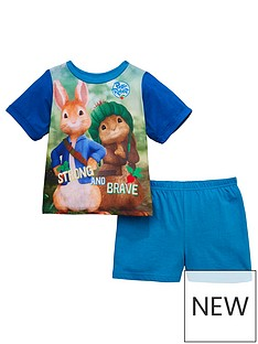 character-peter-rabbit-boys-shorty-pyjamas