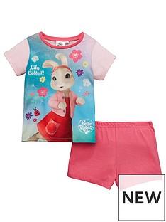 character-peter-rabbit-girls-shorty-pyjamas