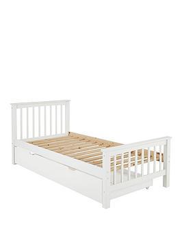 Novara Kids Single Bed Frame - Bed Frame With Premium Mattress