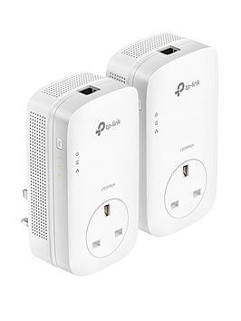 tp-link-1300mbps-gigabit-powerline-with-passthrough-ndash-1port-tl-pa8010p-kit