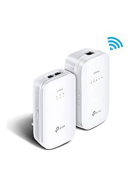 tp-link-2000mbps-gigabit-gaming-powerline-1200mbps-ac-wi-fi-kit-ndash-2-ports-tl-wpa9610nbspkit
