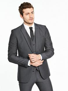 v-by-very-slim-herringbone-jacket-charcoal