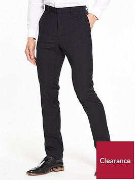 v-by-very-slim-check-suit-trouser-navynbsp