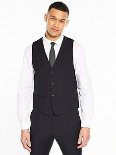 v-by-very-slim-check-suit-waistcoat