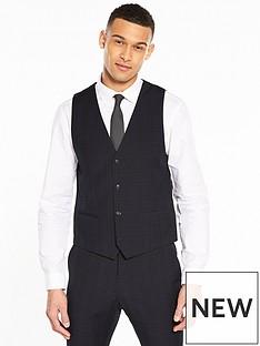 v-by-very-slim-check-suit-waistcoat