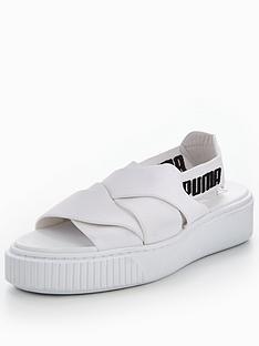 17716ade838f Puma Platform Sandal - White