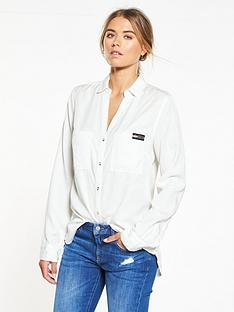 superdry-tencel-shirt-white