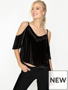 girls-on-film-girls-on-film-black-velvet-lace-trim-cami-top