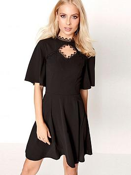 girls-on-film-girls-on-film-choker-neck-detail-skater-dress