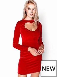 girls-on-film-heart-shape-front-velvety-bodycon-mini-dress-red