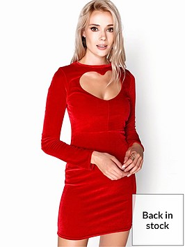 girls-on-film-heart-shape-front-velvety-bodycon-mini-dress-red