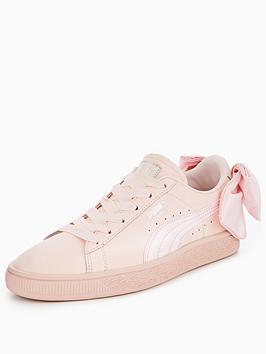 Puma Basket Bow - Pink