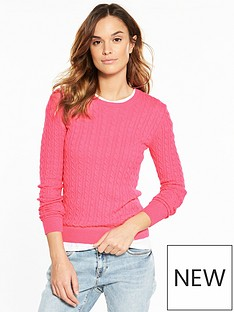superdry-luxe-cable-knit-sweater-fluoro-pink