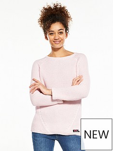 superdry-alyssa-rib-knit-sweater-blush-pink