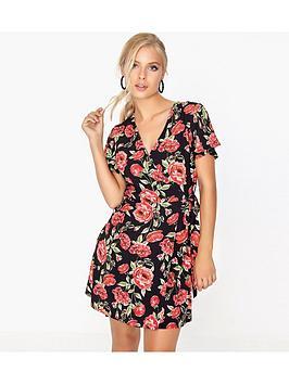 girls-on-film-floral-wrap-dress