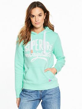 superdry-slogan-hoodie-lagoon-green