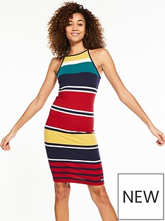 superdry-strappy-stripe-midi-dress