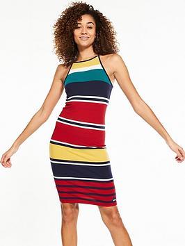 superdry-strappy-stripe-midi-dress