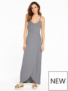 superdry-stripe-wrap-dress-navywhite