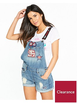 superdry-dungaree-boyshort