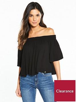 superdry-alia-off-shoulder-blouse-black