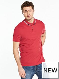 v-by-very-short-sleeve-pique-polo