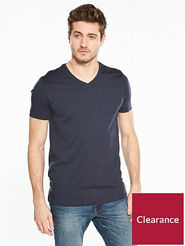 v-by-very-short-sleeve-v-neck-tee