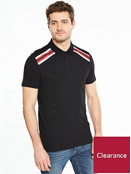v-by-very-contrast-yoke-panel-polo