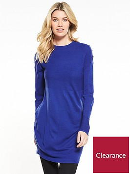 v-by-very-ripple-stitch-button-detail-tunic-blue