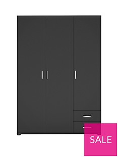 madrid-3-door-2-drawer-wardrobe
