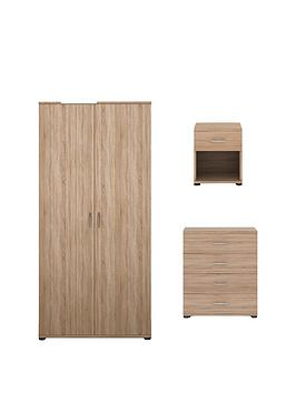 madrid-3-piece-package-2-door-wardrobe-4-drawer-chest-and-1-drawer-bedside-cabinet