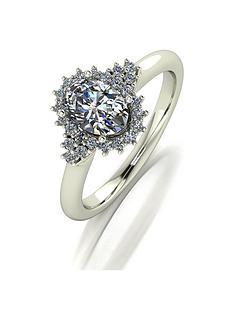 moissanite-moissanite-9ct-gold-110ct-oval-center-cluster-ring