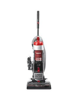 Hoover Vision One-Fi Pet Vr81 Of01 Smart Upright Vacuum Cleaner - Red Grey